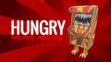 Hungry Arcade Machine