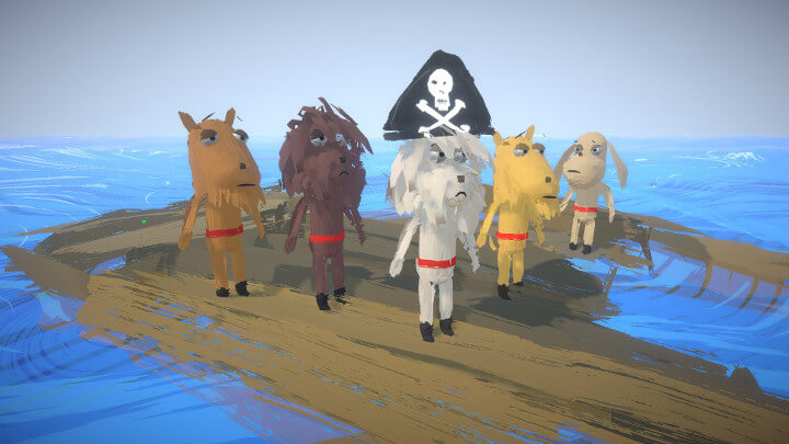Seadogs Adrift