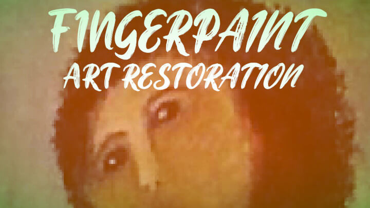 Fingerpaint Art Restoration